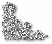 Memory Box PENNINGTON ROSE CORNER Craft Die