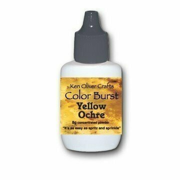 Ken Oliver YELLOW OCHRE Color Burst Powder