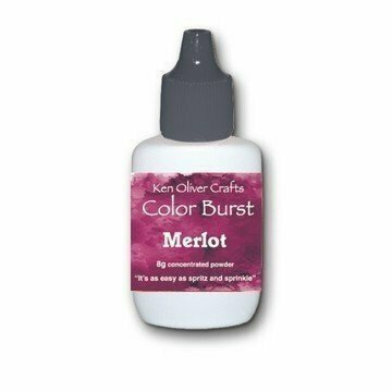 Ken Oliver MERLOT Color Burst Powder