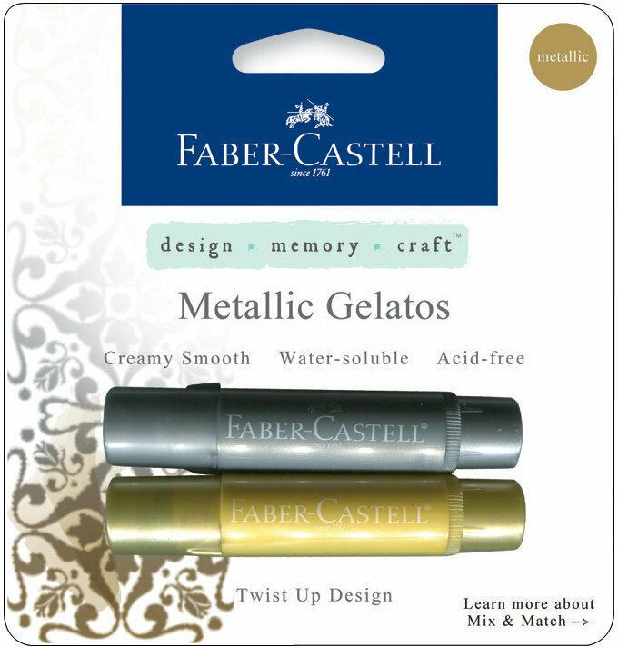 Faber-Castell METALLIC Gelatos 2 Piece Set