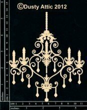 Dusty Attic CHANDELIER #3 Lasercut Designs