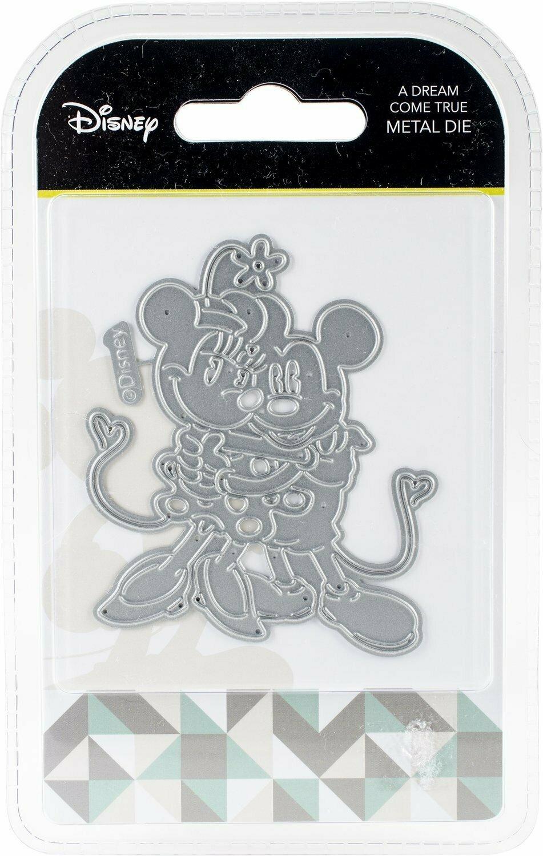 Disney A DREAM COME TRUE Mickey & Minnie Mouse Die Set
