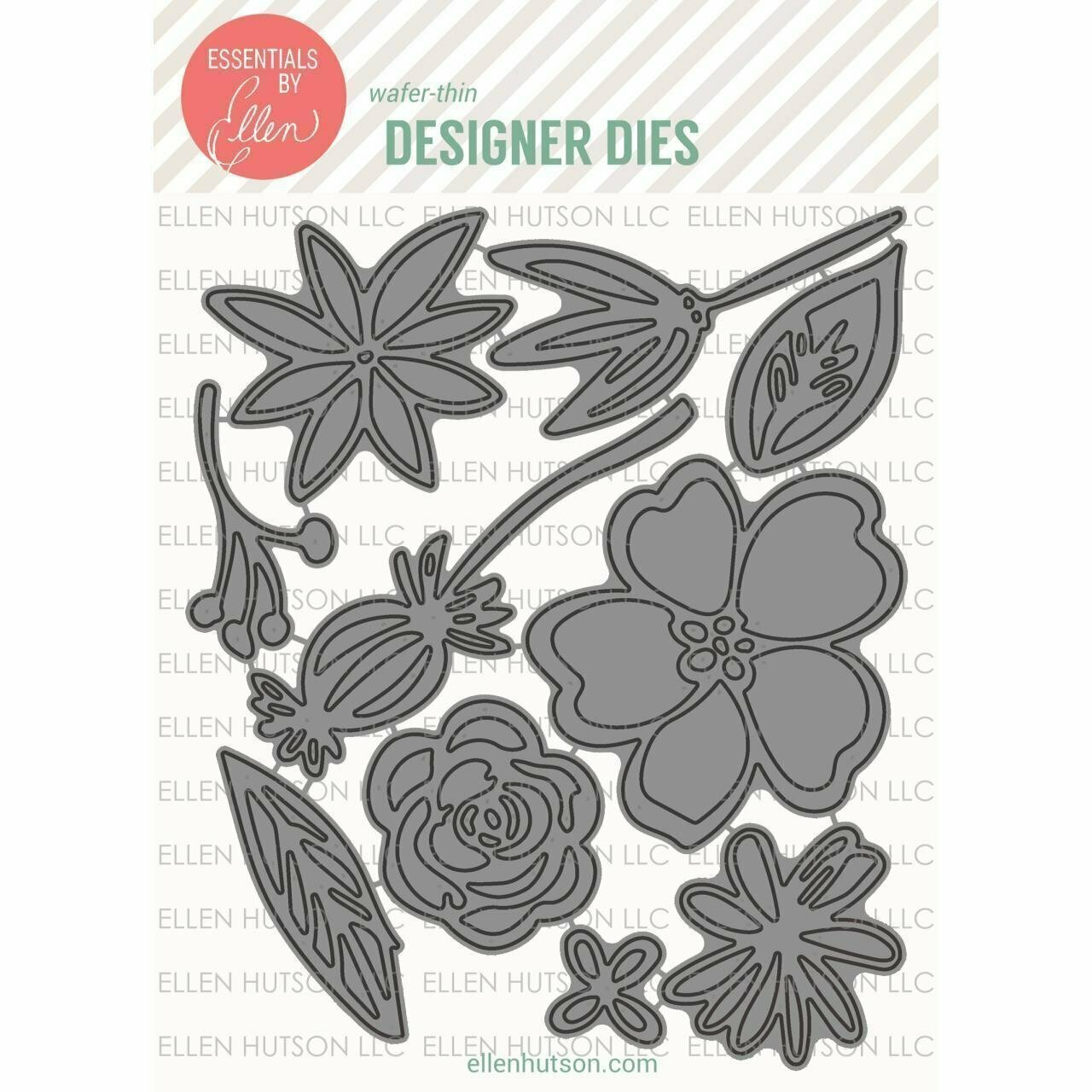 Essentials by Ellen WILD GARDEN Die Set