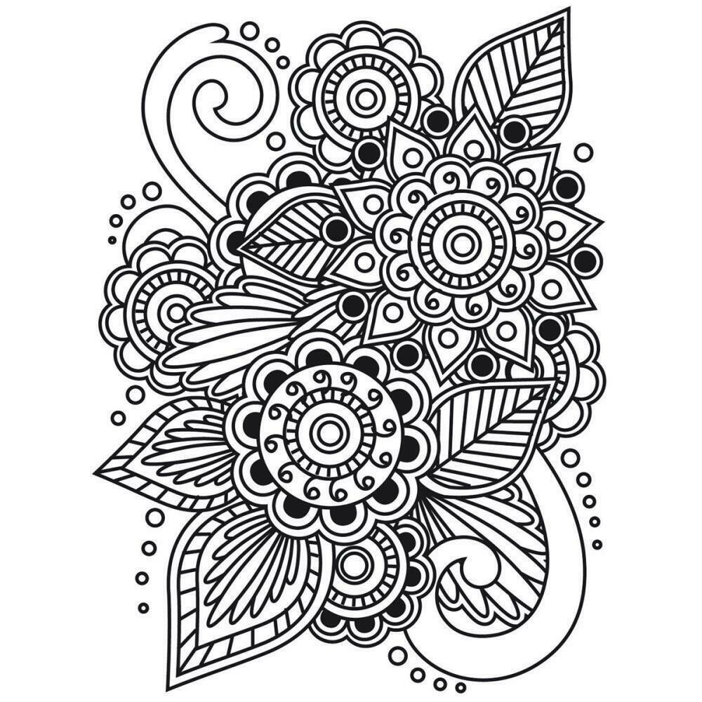 Darice HENNA Embossing Folder