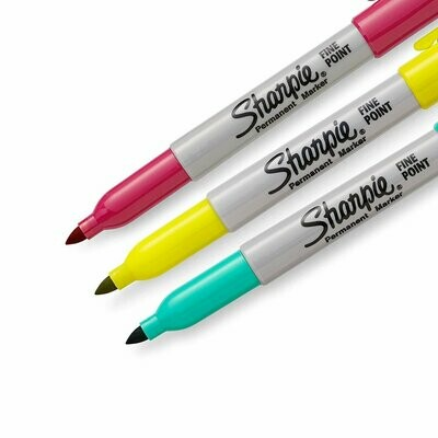 Sharpie COLOR BURST Fine Tip Permanent Markers