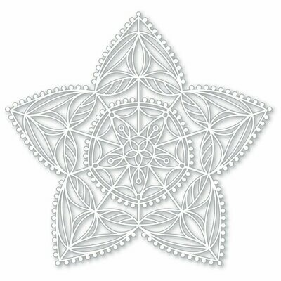 Simon Says Stamp CHRISTMAS STAR Stencil