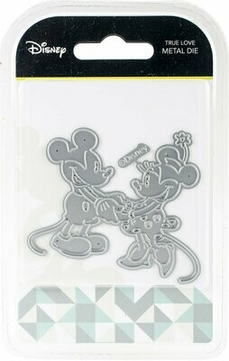Disney TRUE LOVE Mickey & Minnie Mouse Die Set