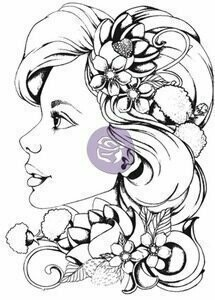 Prima Marketing SOPHIE Bloom Cling Stamp