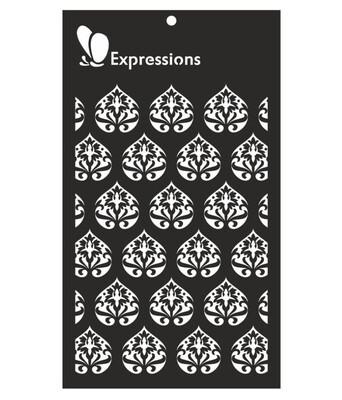 Expressions VINTAGE DAMASK Stencil