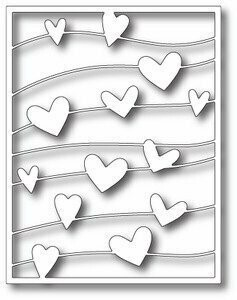 Simon Says Stamp FLOATING HEARTS Craft Die