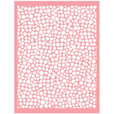 Cuttlebug TINY BUBBLES Embossing Folder