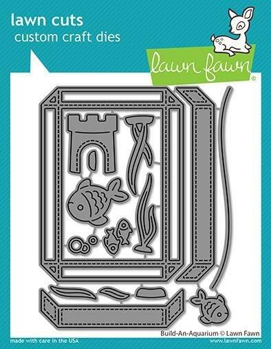 Lawn Fawn BUILD-AN-AQUARIUM Die Set