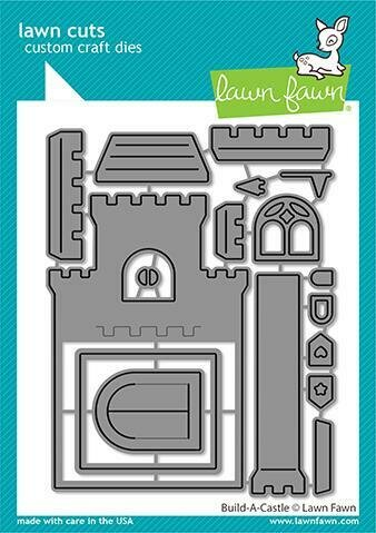 Lawn Fawn BUILD-A-CASTLE Die Set