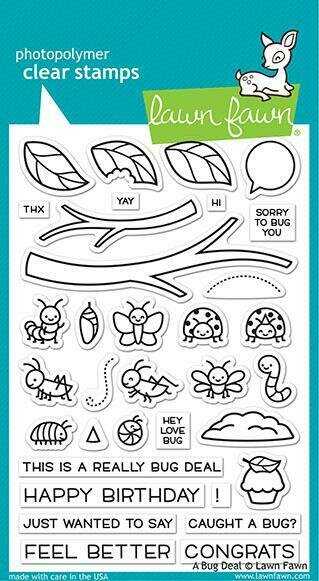 Lawn Fawn A BUG DEAL Stamp Set