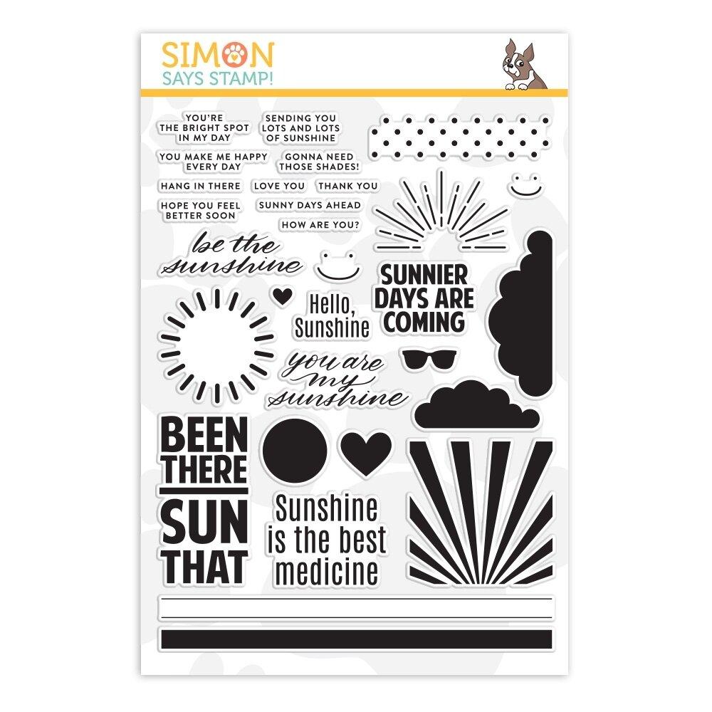 Simon Says Stamp HELLO SUNSHINE Clear Stamp Set