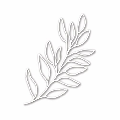 Simon Says Stamp LEAFY BRANCH Die