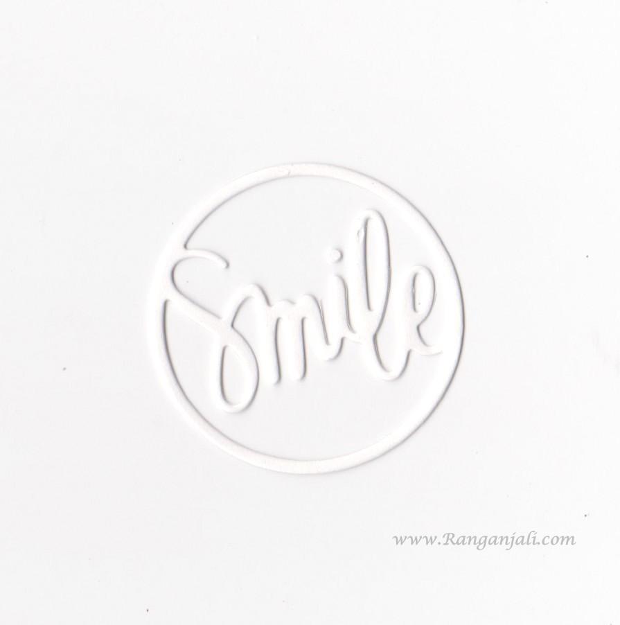 Simon Says Stamp SMILE CIRCLE Wafer Thin Die