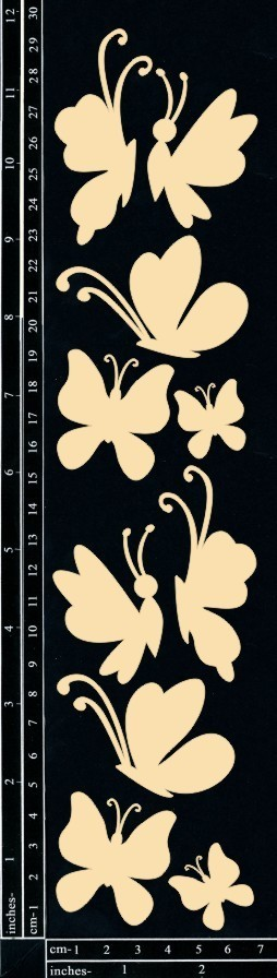 Dusty Attic BUTTERFLIES #2 Lasercut Designs