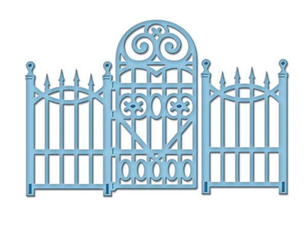 Spellbinders GARDEN GATE Shapeabilities D-Lite Die