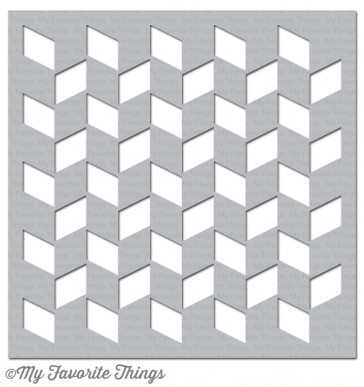 My Favorite Things CHUNKY HERRINGBONE Stencil