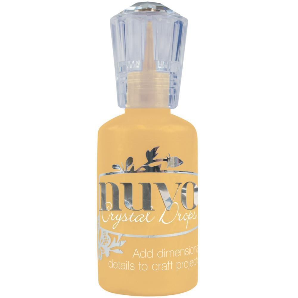 Nuvo DANDELION YELLOW Gloss Crystal Drops