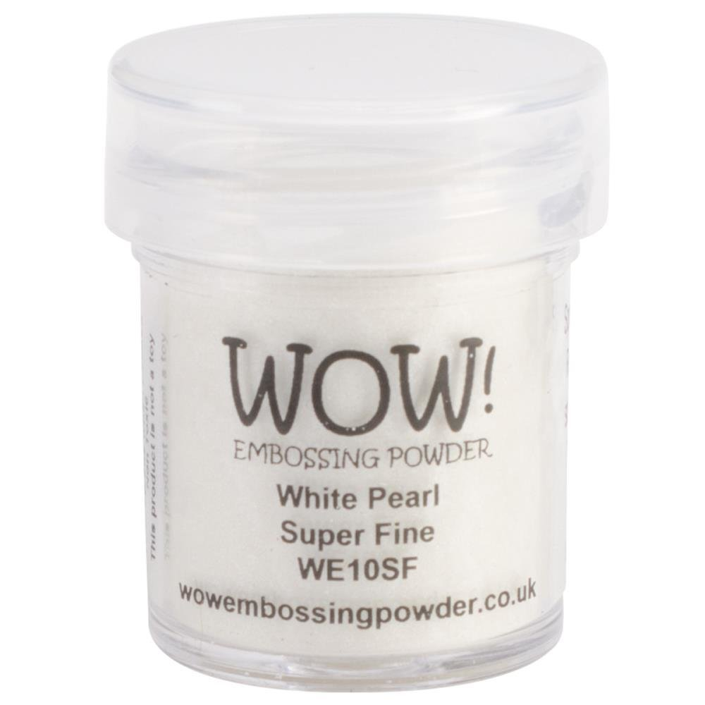 WOW! WHITE PEARL Superfine Embossing Powder