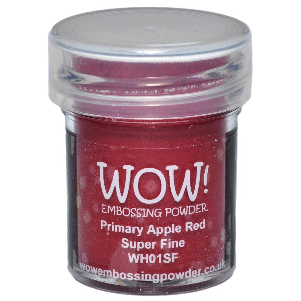 WOW! PRIMARY APPLE RED Superfine Embossing Powder