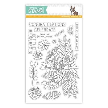 Simon Says Stamp FLORAL BLISS Clear Stamp Set