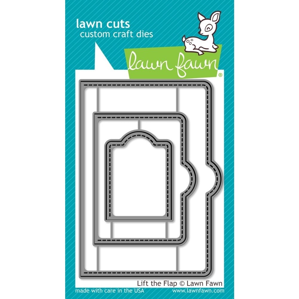 Lawn Fawn LIFT THE FLAP Die Set