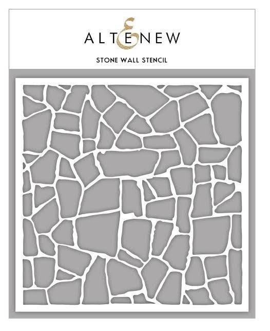 Altenew STONE WALL Stencil