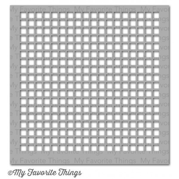 My Favorite Things GRID Stencil