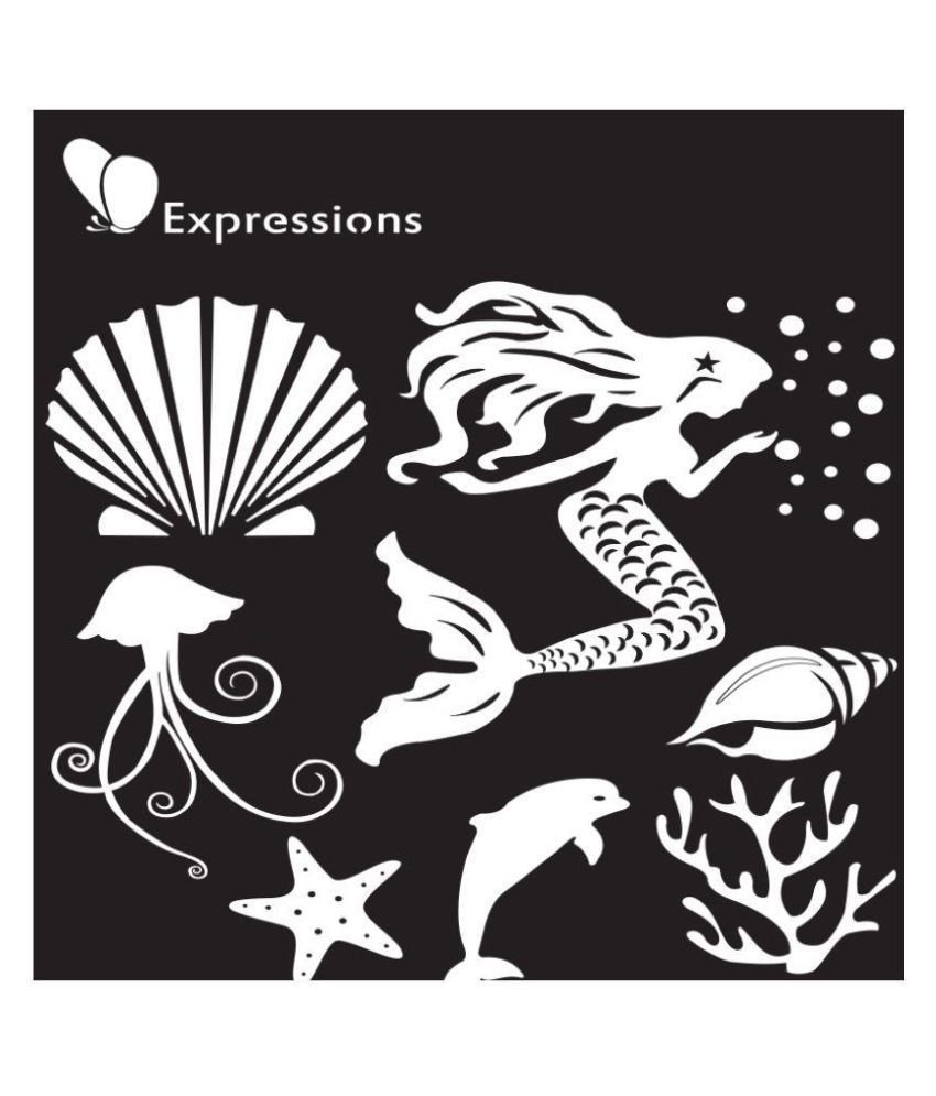 Expressions MERMAID Stencil