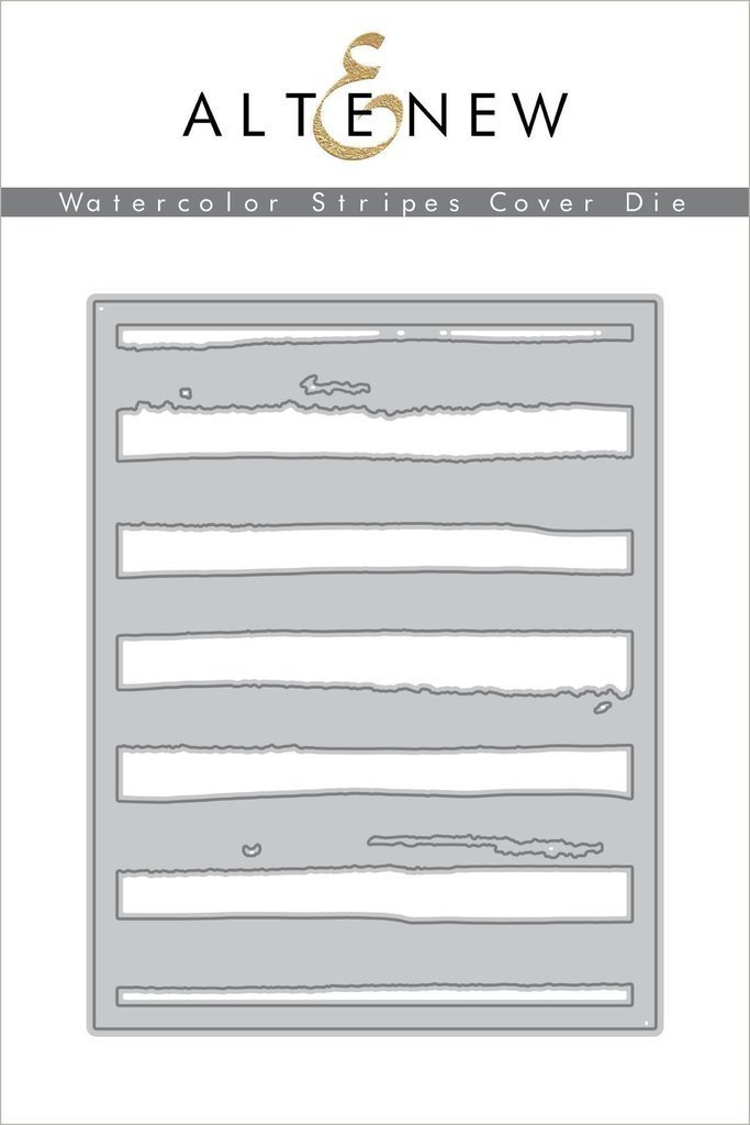 Altenew WATERCOLOR STRIPES COVER Die