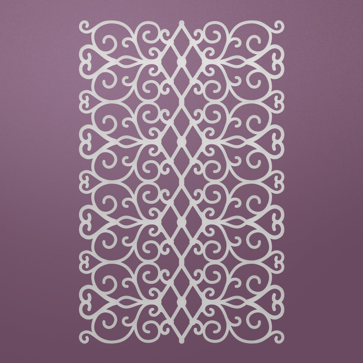 Ultimate Crafts FLORAL LATTICE Die