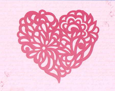 Ultimate Crafts MAGNOLIA HEART Die