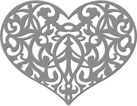 Ultimate Crafts ORNATE HEART Die