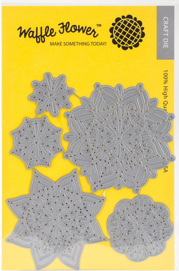 Waffle Flower LACY FLOWERS Die Set