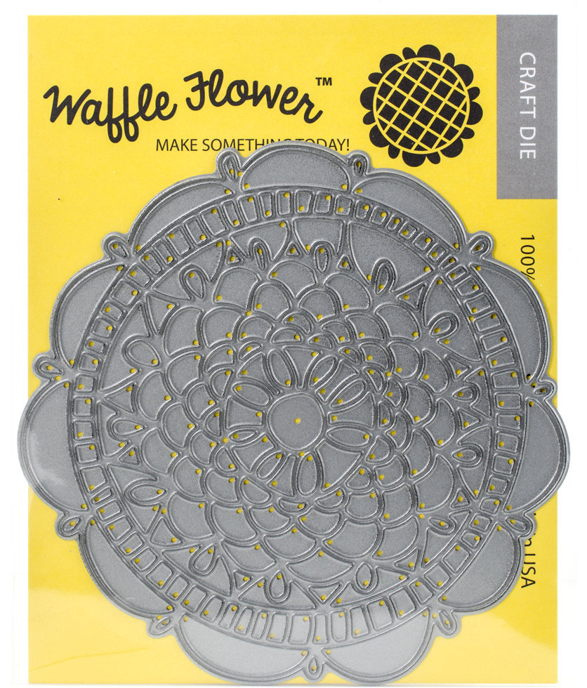 Waffle Flower DOILY CIRCLE Die