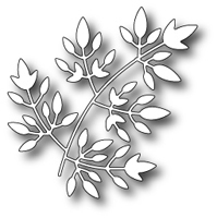 Poppy Stamps  Freida Leaf Craft Die