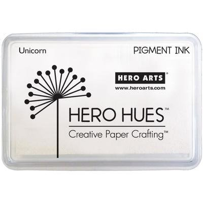 Hero Arts Hero Hues UNICORN White Pigment Ink Pad