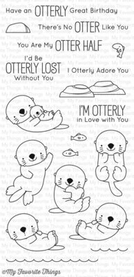 My Favorite Things OTTERLY LOVE YOU Clear Stamp Set