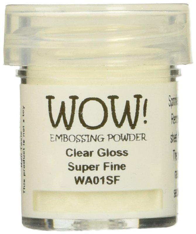 WOW! CLEAR GLOSS- Superfine Embossing Powder
