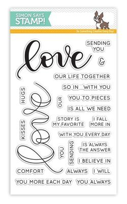Simon Says Stamp LOVE Clear Stamp Set