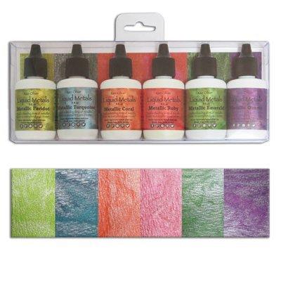 Ken Oliver SHIMMERING GEMS Color Burst Powder Set