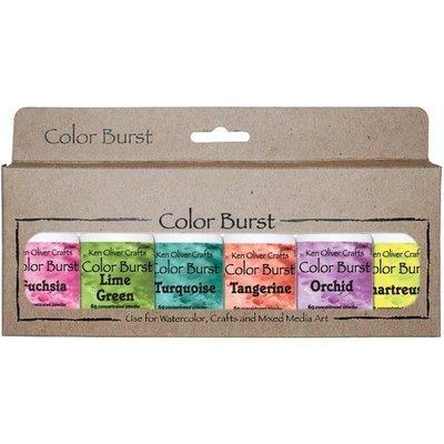 Ken Oliver CARIBBEAN BRIGHTS Color Burst Powder Set