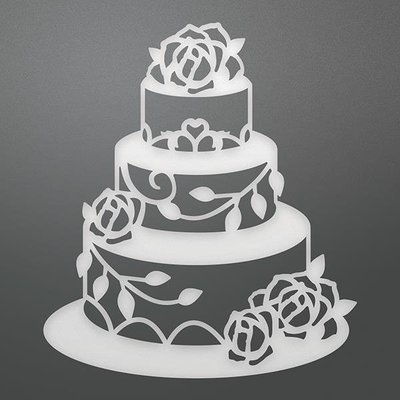 Ultimate Craft WEDDING CAKE Die