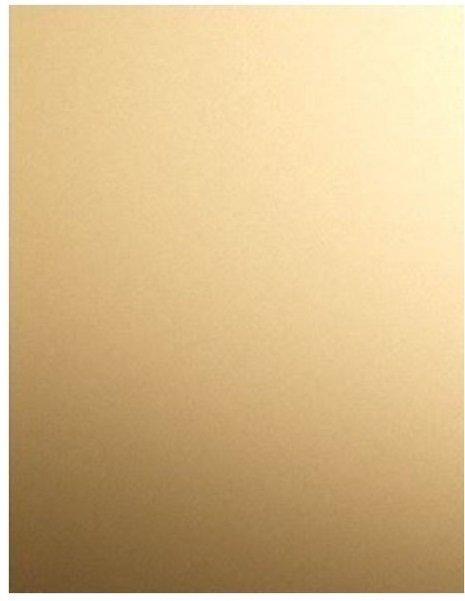 GOLD MIRROR Cardstock - 5/pk