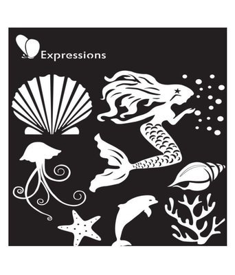 Expressions MERMAID Stencil