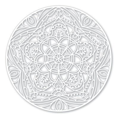 Simon Says Stamp STAR MEDALLION Stencil