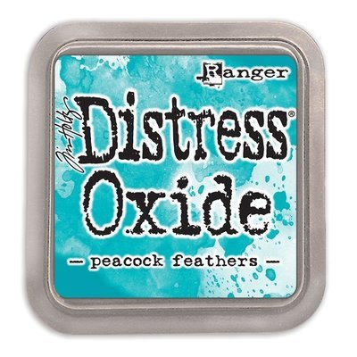 Tim Holtz PEACOCK FEATHERS Distress Oxide Ink Pad